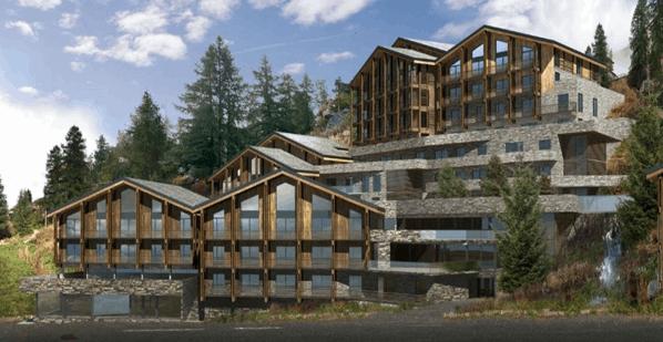 Projet de développement dhotel et chalet à la montagne
