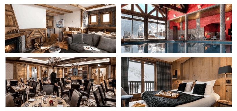 L'Hotel 5 étoiles Les Suites du Village Montana Tignes